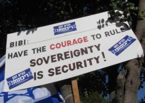 A call for Israeli Sovereignty in the West Bank
