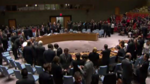 December 23: UN Security Council Meeting